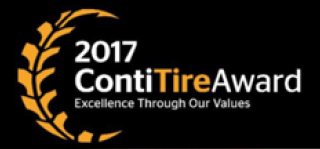 Conti Tire Award Logo