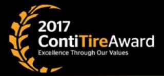 Conti Tire Award Logo